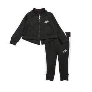 Infant Girl's Nike Icon Jacket & Track Pants Set